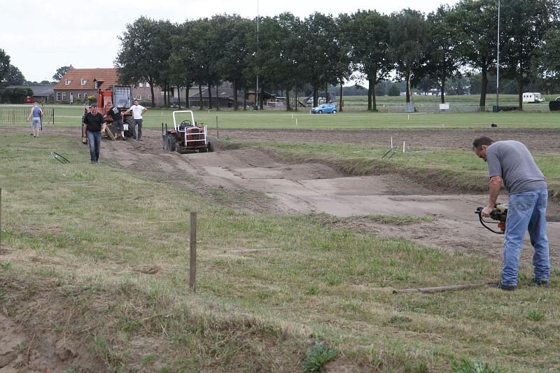Op het Lieropse circuit zijn de voorbereidingen al maanden in volle gang