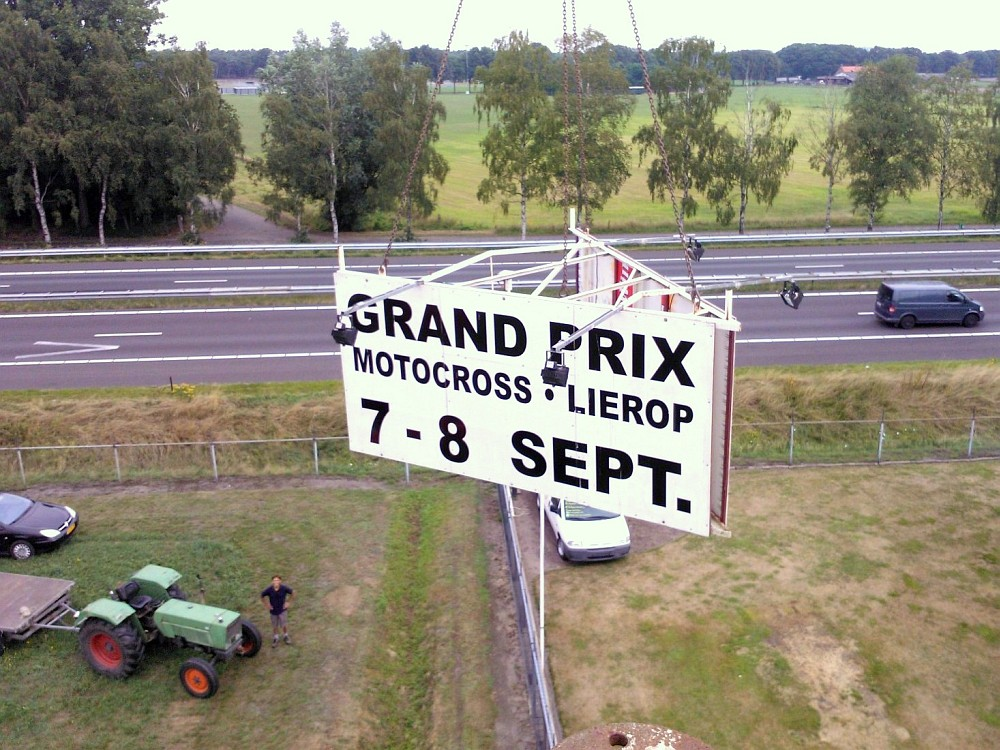 Reclamemast GP Motocross Lierop 7 & 8 September 2013